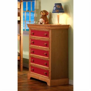 Sunset Trading Crayons 5-Drawer Chest