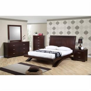 Sunset Trading Raven Platform Bed Set