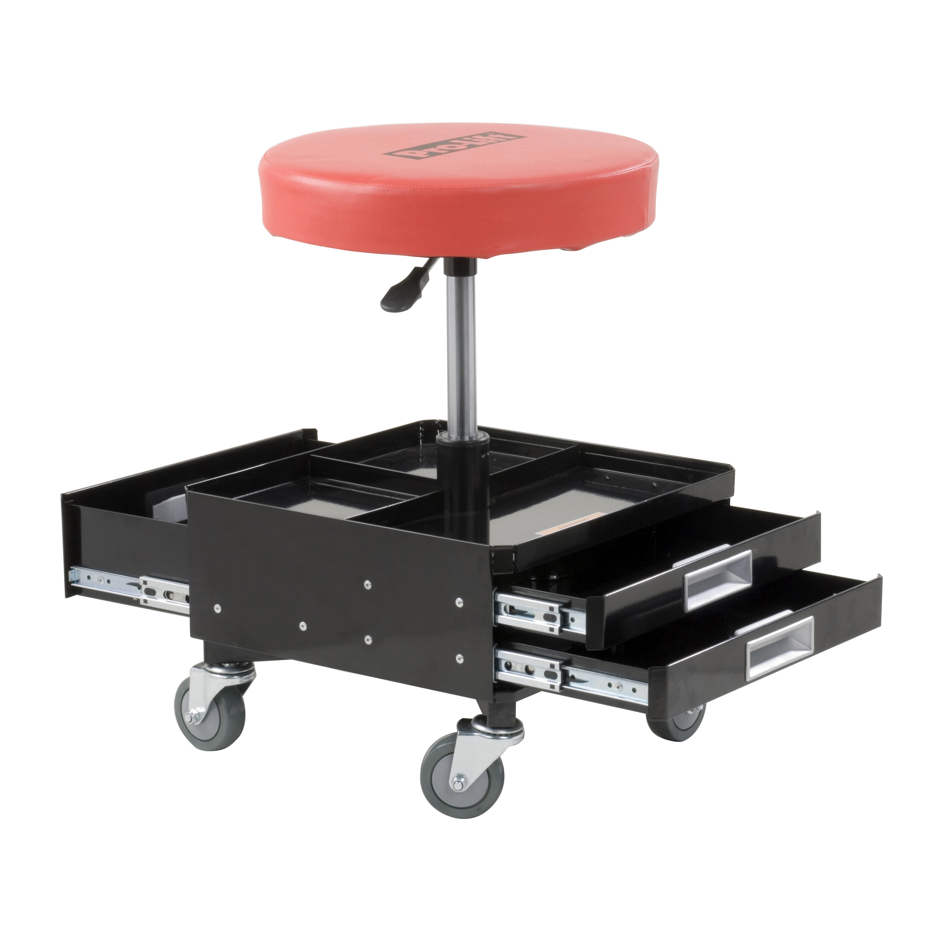 Pro Lift Pneumatic Chair With 3 Drawers Shop Stools At