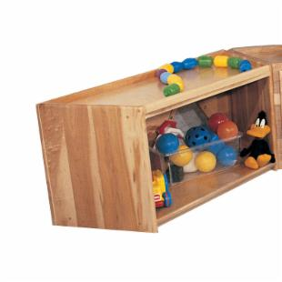 Strictly for Kids Premier Deluxe Trapezoid Primary Care cabinet