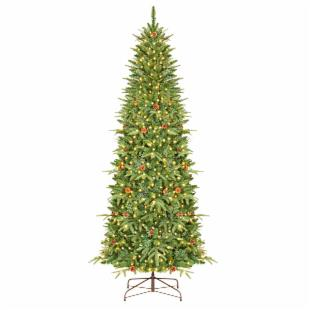 Yosemite Slender Pre-lit Christmas Tree with Clear Lights