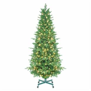 Tahoe Instant Shape Pre-Lit LED Slender Christmas Tree