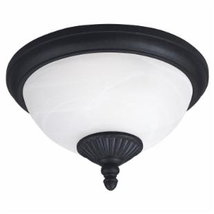 Sea Gull Yorktown Ceiling Light - 7.5H in. Forged Iron
