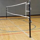  Stackhouse Regulation Volleyball Standards &amp; Net System-Aluminum
