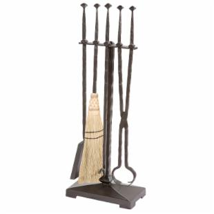 Stone County Ironworks Forest Hill Fire Tool Set - 5 Piece Set
