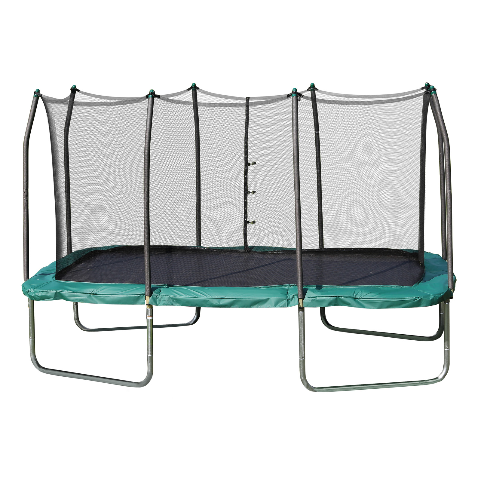 Skywalker 14 Foot Square Trampoline And Enclosure With: Skywalker Trampolines Rectangle 8 X 14 Ft. Trampoline With