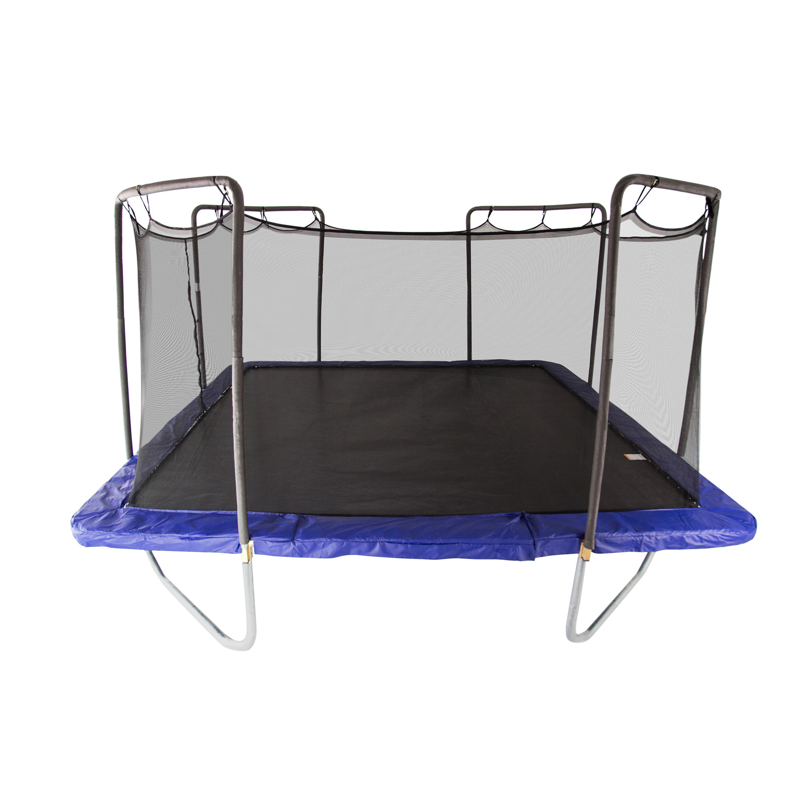 Skywalker 14 Foot Square Trampoline And Enclosure With: Skywalker 15-ft. Square Trampoline And Enclosure Combo