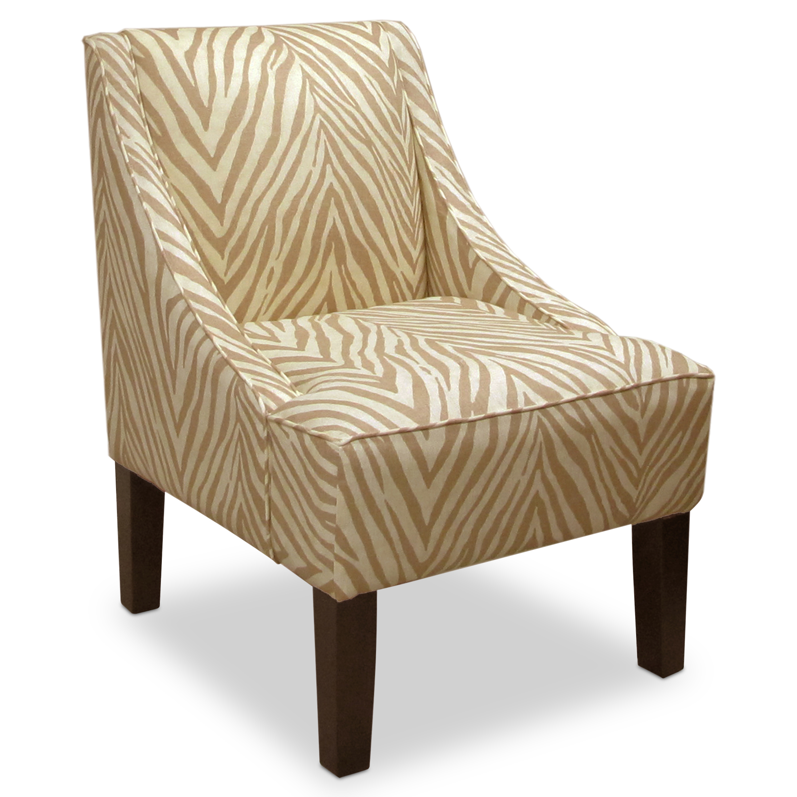 Sudan Camel Swoop Arm Chair Accent Chairs At Hayneedle