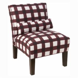 Skyline Furniture Patterned Armless Chair