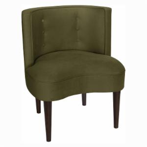 Skyline Furniture Curved Back Armless Chair