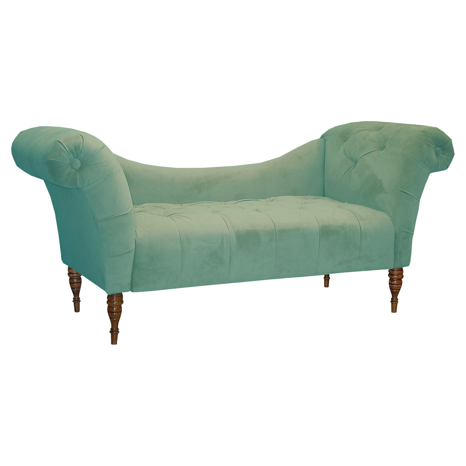 Olivia chaise lounge velvet dream indoor chaise for Chaise lounge couch