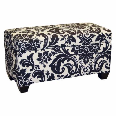 Skyline Fiorenza Upholstered Storage Bench
