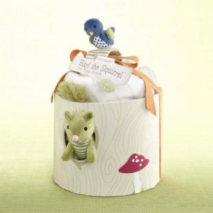 Earl the Squirrel and Forest Friends Woodland Gift Set with Optional Personalization