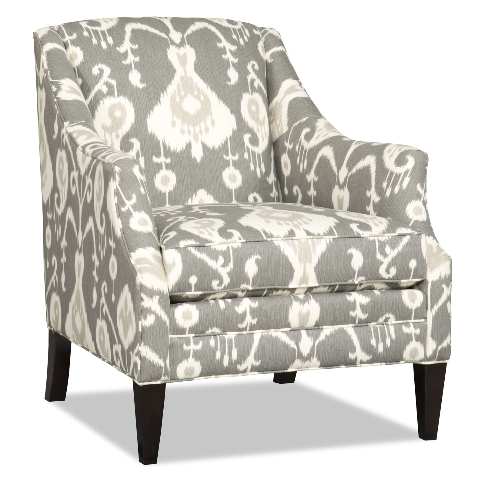 Sam Moore Lark Club Chair Pewter Accent Chairs At