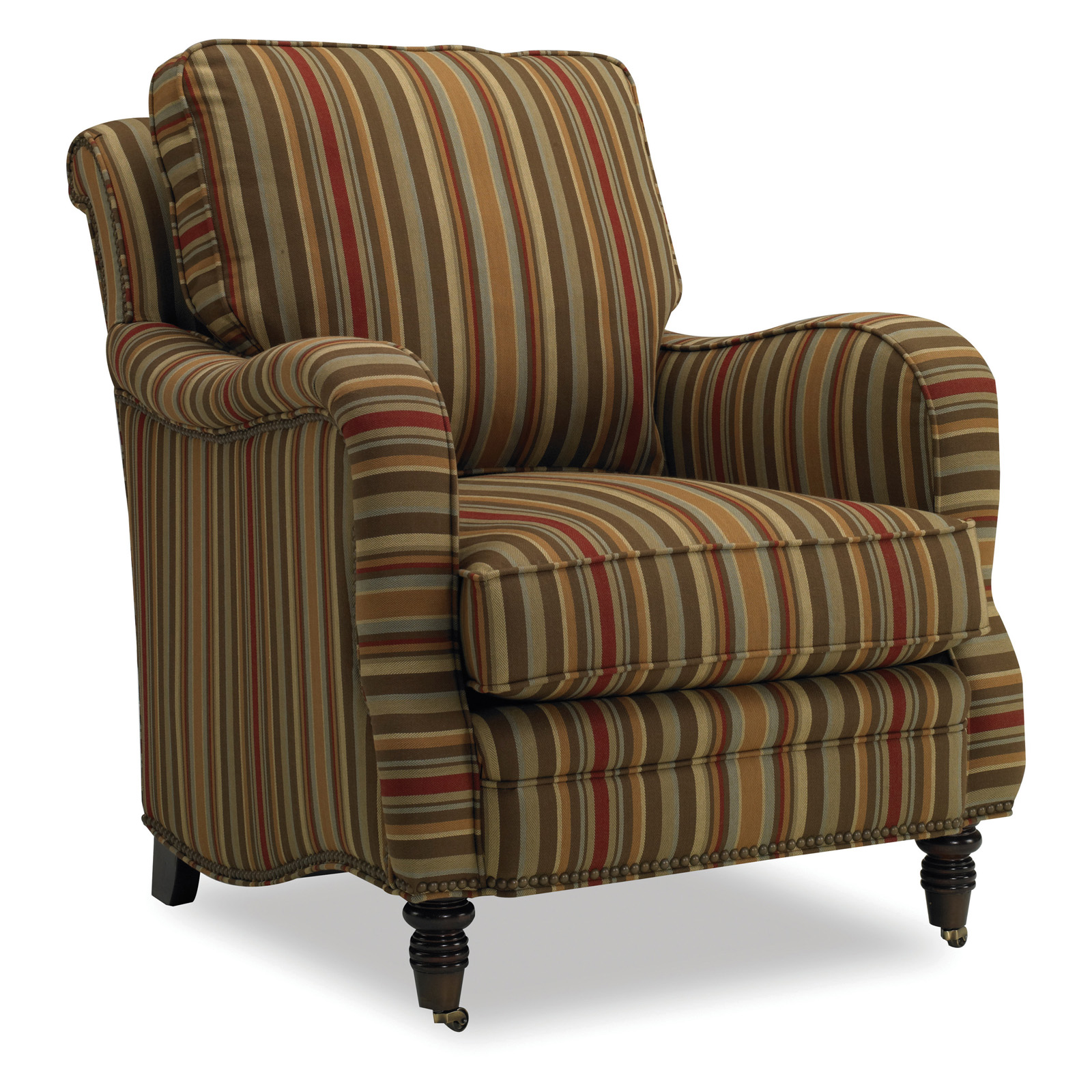 Sam Moore Tyler Club Chair Mocha Accent Chairs At Hayneedle