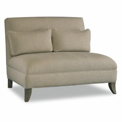 Sam Moore Rhys Armless Settee - Natural