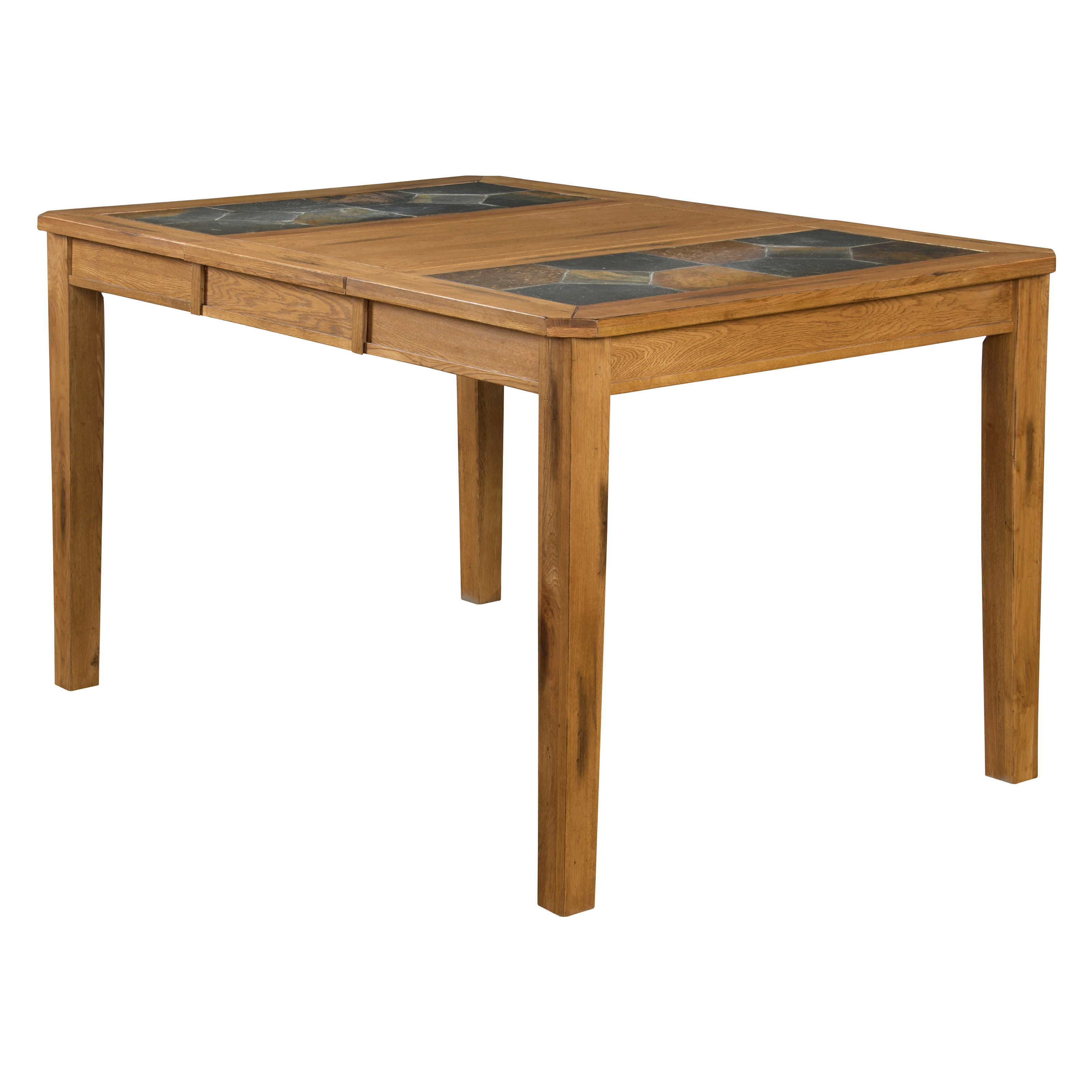 sunny designs sedona rectangular dining table with slate topm