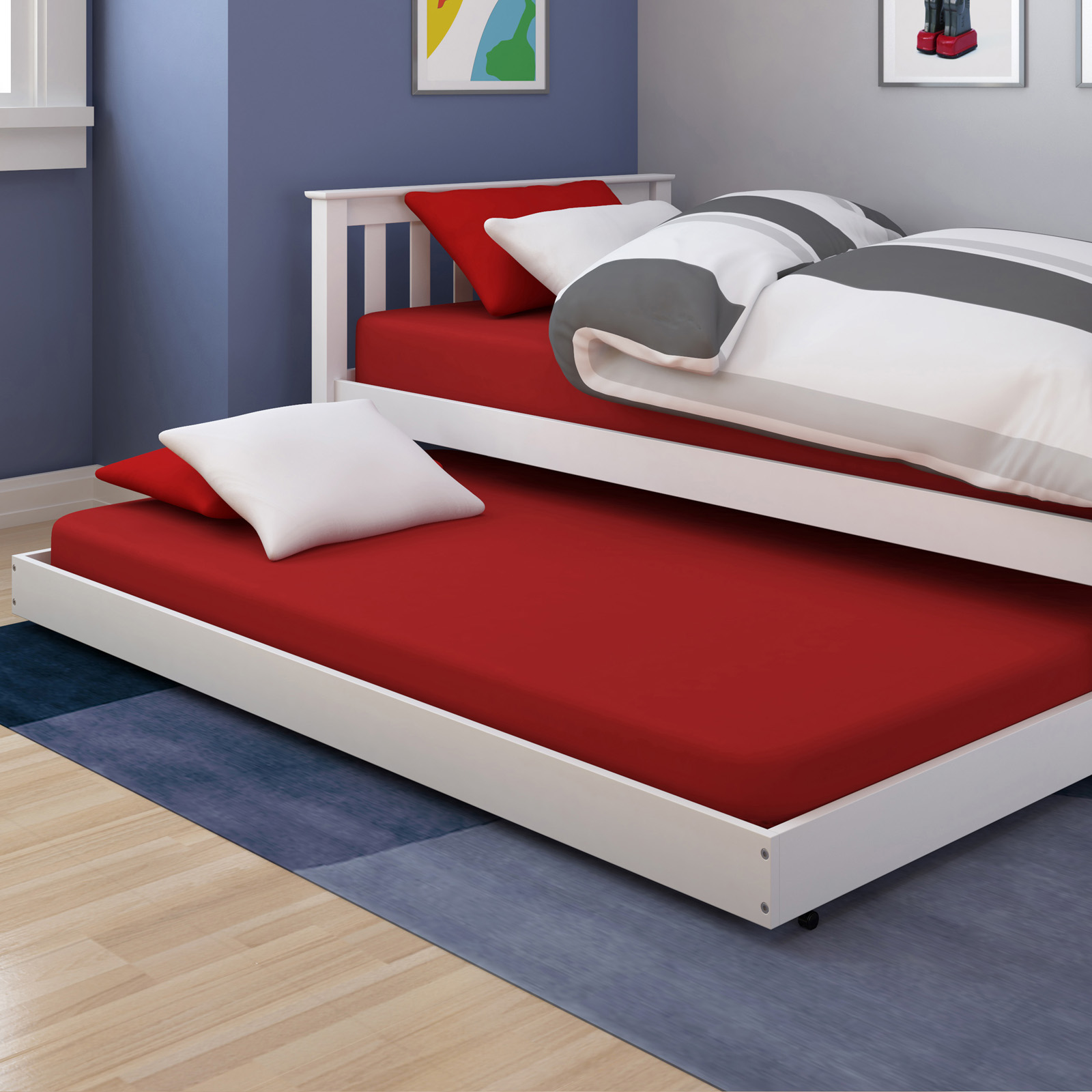 Corliving monterey trundle bed kids trundle beds at Best trundle bed