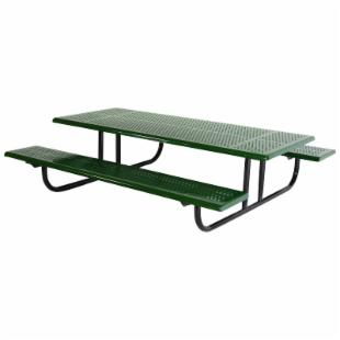 SportsPlay Early Years 4 ft. Perforated Thermoplastic Steel Picnic Table