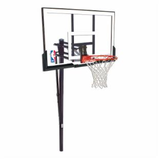 Spalding Inground 52-Inch Acrylic Basketball System