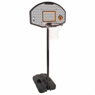 Spalding 44 in. Evolution Eco Composite Fan Portable Basketball System