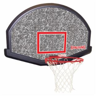 Spalding 48-Inch Eco-Composite Basketball Backboard Combo