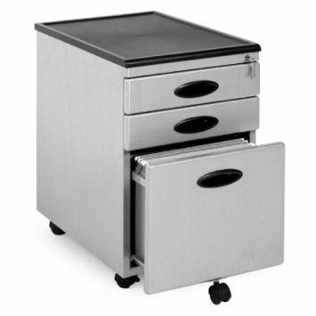 Power Center Mobile 3-Drawer Vertical Filing Cabinet