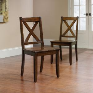 Cross Back Dining Chairs On Hayneedle Cross Back Dining