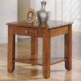  Steve Silver Nelson End Table - Oak