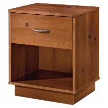  Logik 1-Drawer Nightstand-Sunny Pine