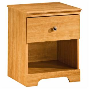 Billy 1-Drawer Nightstand-Sunny Pine