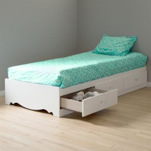 South Shore Crystal Mates Twin Platform Bed