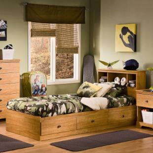 South Shore Billy Twin Bookcase Bed Collection