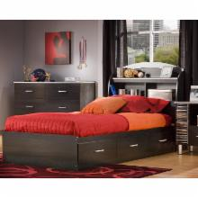  South Shore Cosmo Bookcase Bed Collection