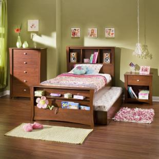 South Shore Jumper Twin Mates Bookcase Bed Collection