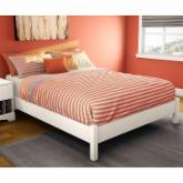  Sandbox Platform Bed - White