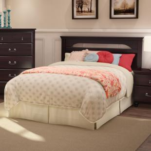 Noble Full/Queen Headboard - Dark Mahogany