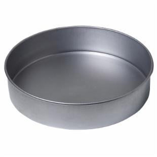Chicago Metallic Commercial II Aluminized Steel 9 in. Round Cake Pan