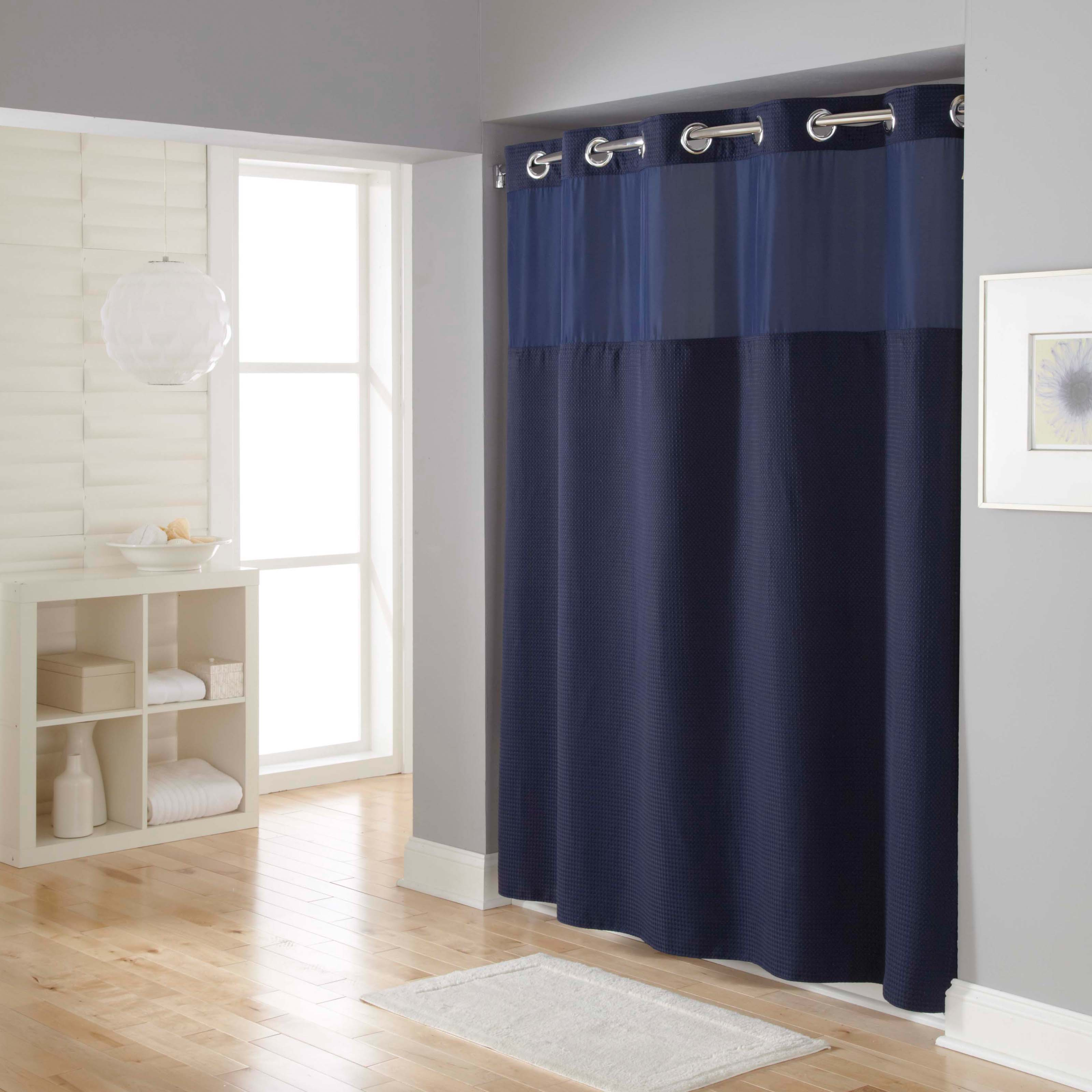 Hookless Mystery Solid Fabric Shower Curtain Shower Curtains At Hayneedle