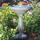  Smart Solar Portsmouth Solar Bird Bath Fountain