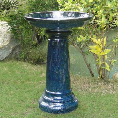 Aviatra Traditional Ceramic Bird Bath