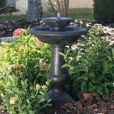  Smart Solar Chatsworth 2-Tier Solar-On-Demand Fountain