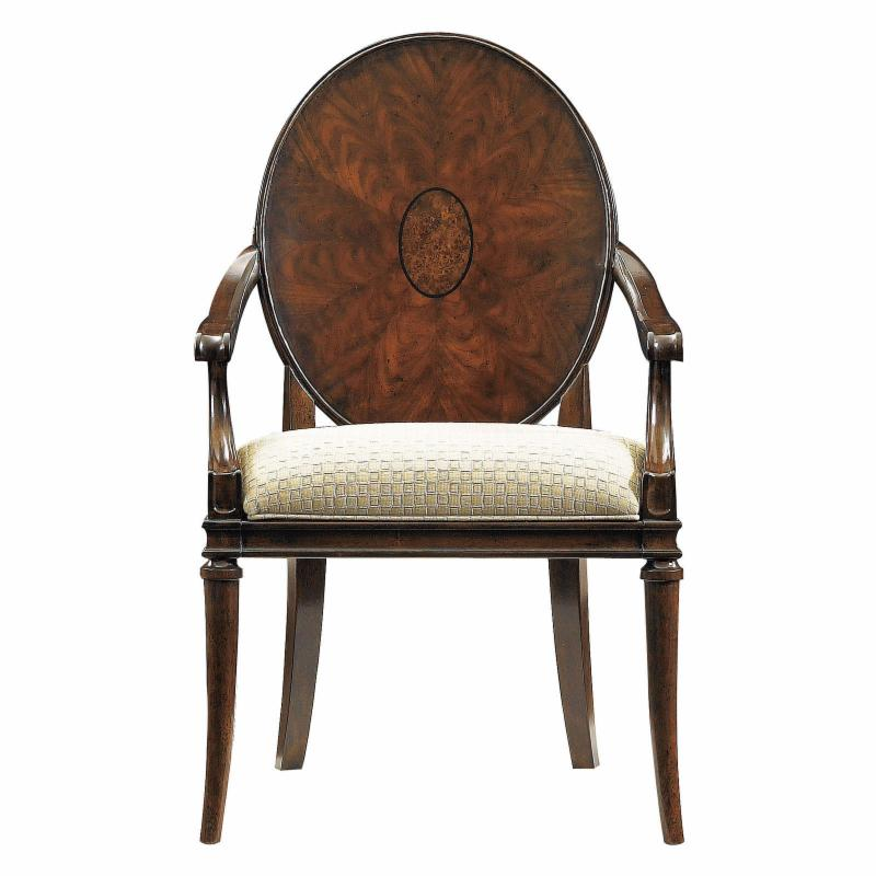 Stanley Avalon Heights Wood Back Arm Chair