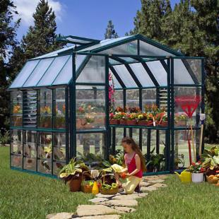 Rion Prestige 8.6 x 8.6-Foot Greenhouse