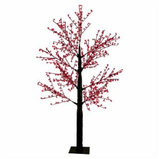 Red LED Blossom Tree