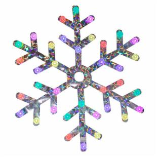 36 in. LED Color Changing Snowflake