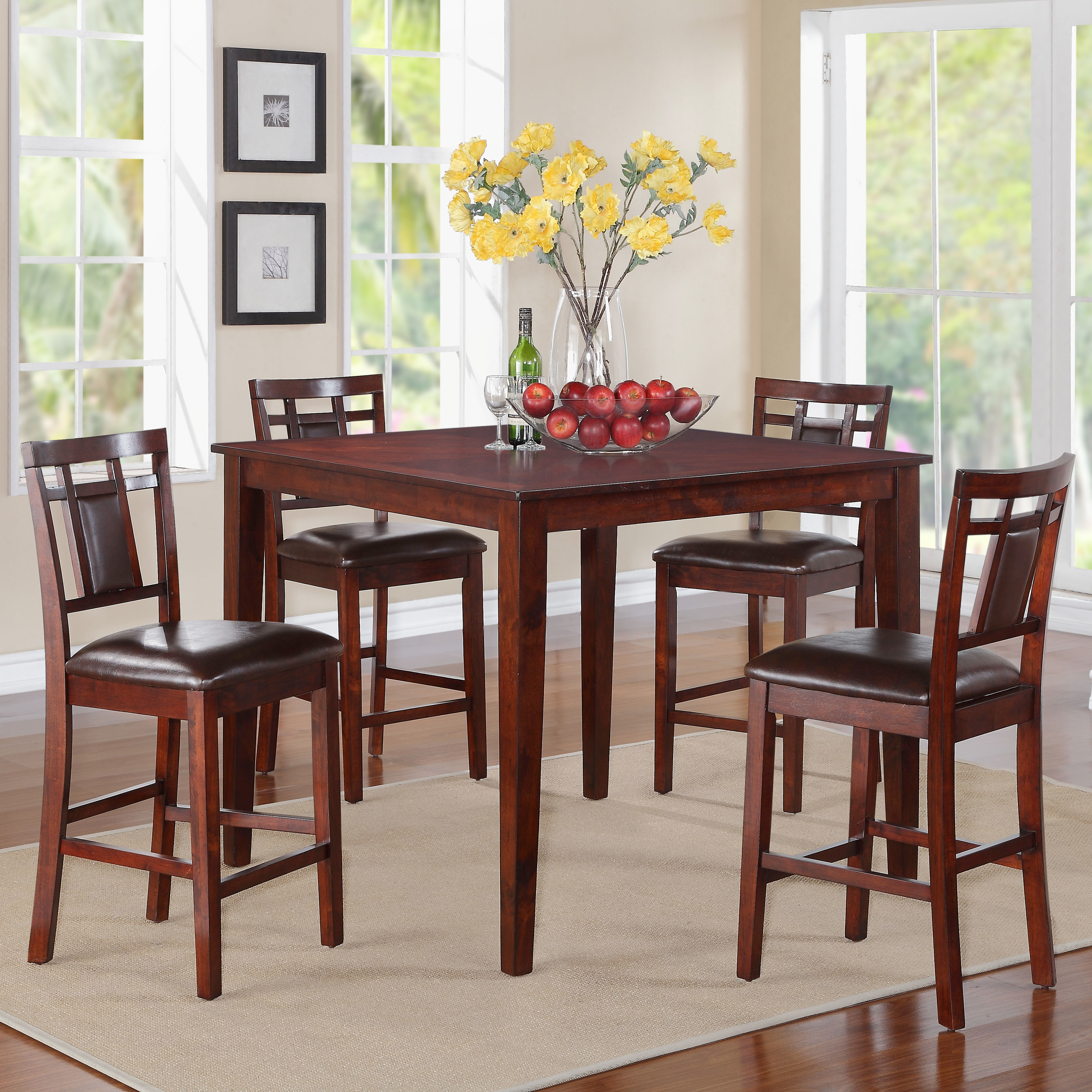 Standard Furniture Westlake 5 Piece Counter Height Dining