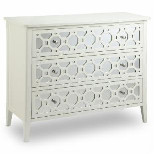 Redding 3 Drawer Chest - White