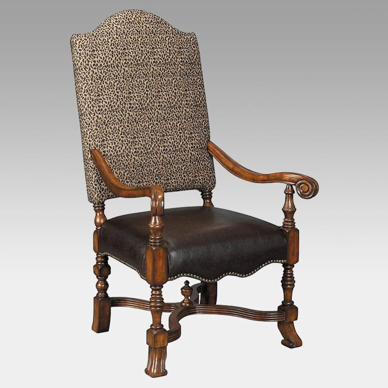 Stein World High Back Animal Print Accent Chair At Hayneedle