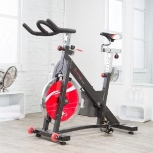 Sunny Health & Fitness Heavy-Duty Chain-Drive Indoor Cycling Bike